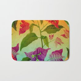Bright Botanical Bath Mat