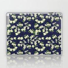 April blooms(Dogwoods_blue) Laptop & iPad Skin