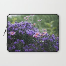 Asters and Japanese Anemones Laptop Sleeve
