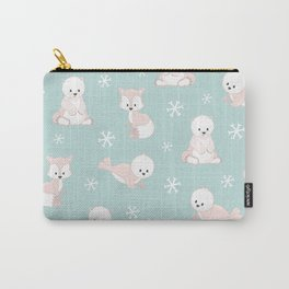 ARCTIC FRIENDS (green) Carry-All Pouch