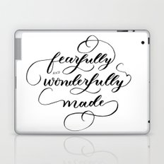 Fearfully & wonderfully made - brushed Laptop & iPad Skin
