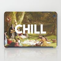 chill iPad Cases featuring Chill by eARTh