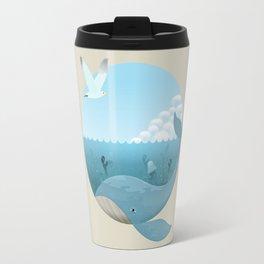 Whale & Seagull (US and THEM) Travel Mug