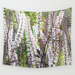 Bugbane forest. Wall Tapestry