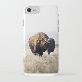 Bison stance iPhone Case