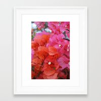 flora Framed Art Prints featuring Flora by Kakel-photography
