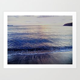 Beach in Costa Rica Art Print