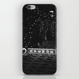 holiday in the city iPhone Skin