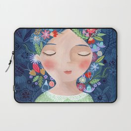 There are women that dreams with red cats Laptop Sleeve