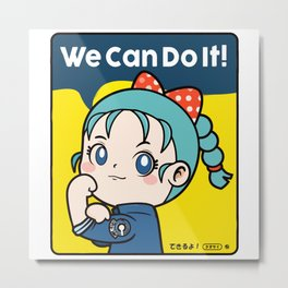 We Can Do It Metal Print