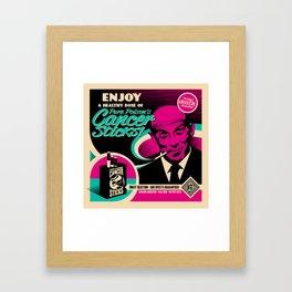 Enjoy Pure Poison's Cancer Sticks! Framed Art Print