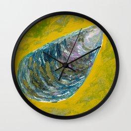 Magic mussel Wall Clock
