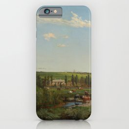 Louis Buvelot - 'Mount Fyans' homestead (1869) iPhone Case