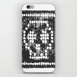 Crochet Impressions: SKULL iPhone Skin