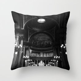 The Lights in the Cathedral Throw Pillow
