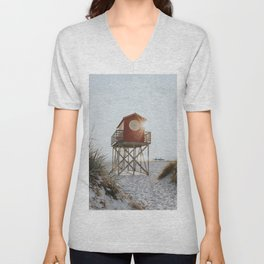 Summer at the beach - Landscape and Nature Photography Unisex V-Neck