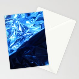 This Cold Elegance in Chrome Folds  Stationery Cards