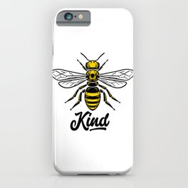 Be Kind - Bee kind iPhone Case