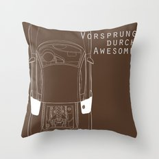 Vorsprung Durch Awesome Throw Pillow