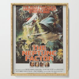 The Neptune Factor Classic Movie Poster Serving Tray