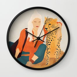 Into The Wild II Wall Clock