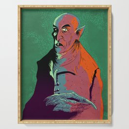 Nosferatu At Rest Serving Tray