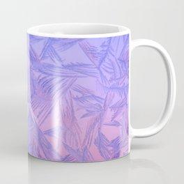 Frost on a window. Coffee Mug