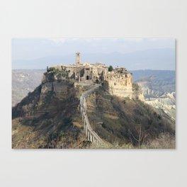 Expiring City Canvas Print