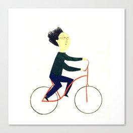 Reason TEN for using bike: Canvas Print