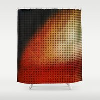 planet Shower Curtains featuring Planet by Emma Harckham