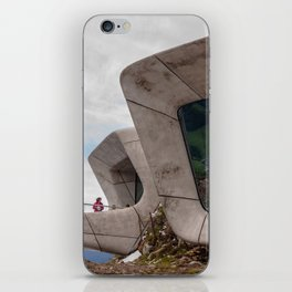 Messner Mountain Museum Corones    Zaha Hadid Architects iPhone Skin