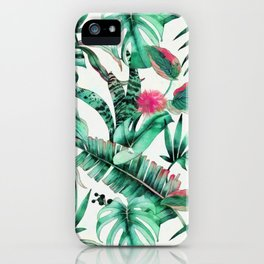 Jungle vibes I iPhone Case
