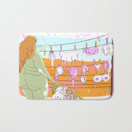 Laundry Bath Mat