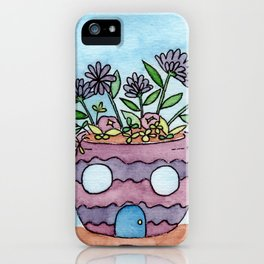In The Garden: September iPhone Case