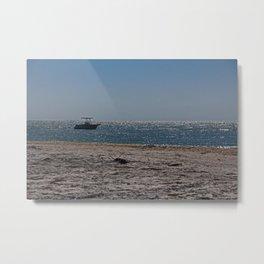 Oceans Apart Metal Print