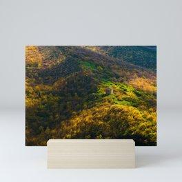 a quiet place Mini Art Print