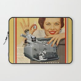 Friday Night in the Typing Pool Laptop Sleeve