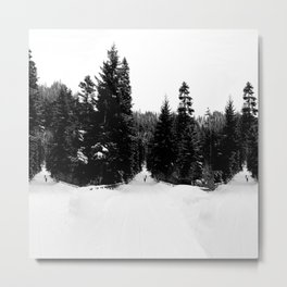 Frozen InDecision Metal Print