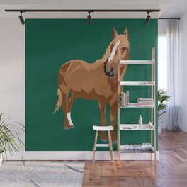 Finn the horse Wall Mural
