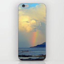 Storm Drops a Rainbow onto Village iPhone Skin