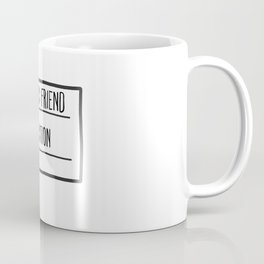 Erotic Friend Fiction Coffee Mug