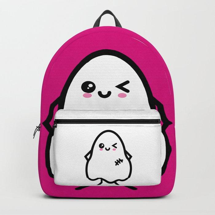 Creepy Egg Ghost - Halloween Backpack
