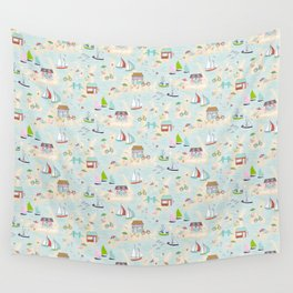 Summer On The Islands Wall Tapestry