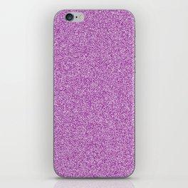 Melange - White and Purple Violet iPhone Skin