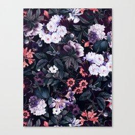 Midnight Garden XXI Canvas Print