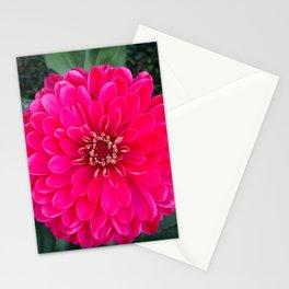 Dahlia star Stationery Cards