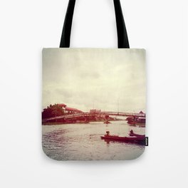 RED BUSH Tote Bag