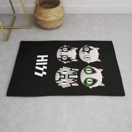 Hiss Cats - Makeup to Breakup Rug