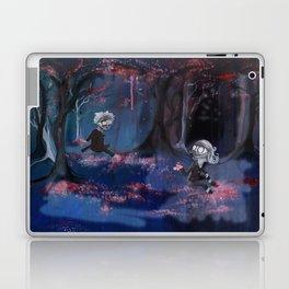 Meeting in the Sakura Woods Laptop & iPad Skin