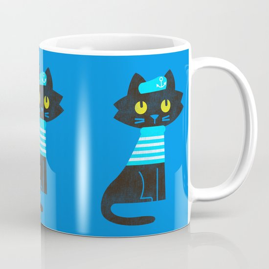 Fitz - Sailor cat Mug